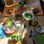 Wie Kinder ihre Kreativität für ein buntes Abendessen einbringen